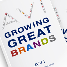 AVI Limited. Annual Report - Open here for design