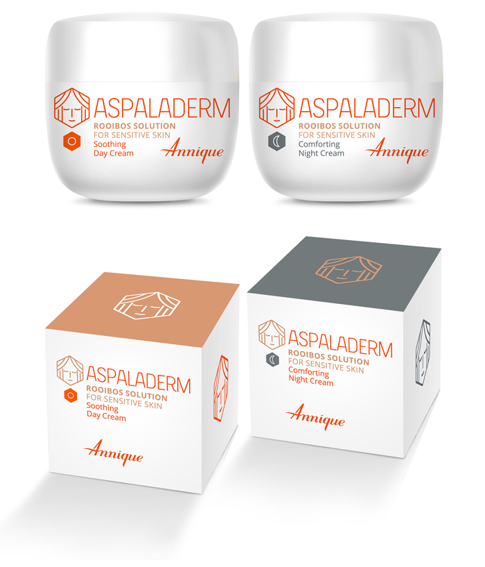 Aspaladerm. Logo. Packaging - Open here for design