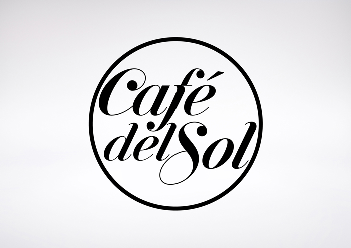 Cafe Del Sol Group. Identity - Open here for design