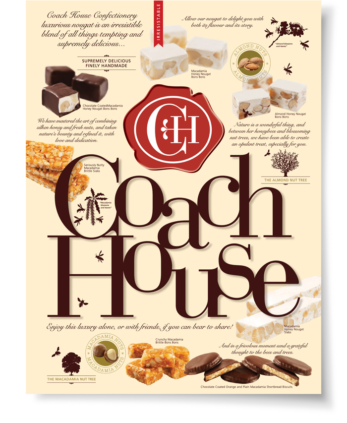 Coach House. Poster - Open here for design