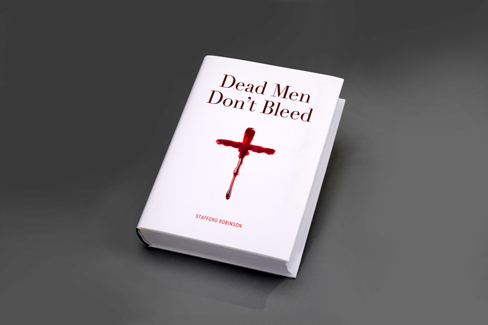 Dead Men Dont Bleed. Book - Open here for design