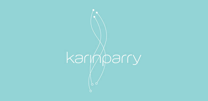 Karin Parry. Identity - Open here for design