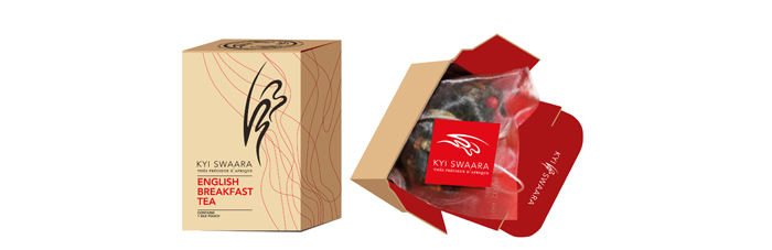 Kyi Swaara. Identity. Packaging - Open here for design