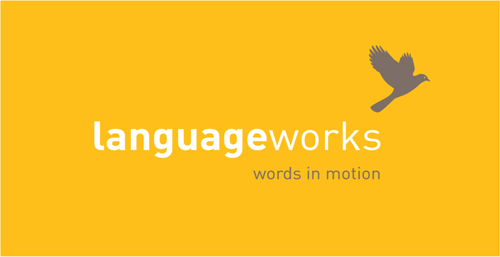 Languageworks. Identity - Open here for design