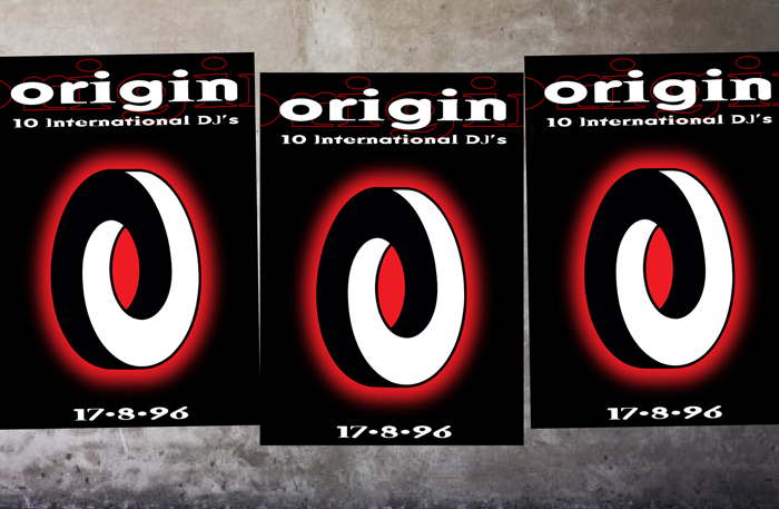 Origin and Fascinate. Logo. Poster - Open here for design