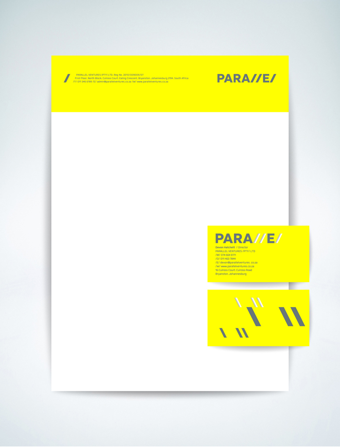 Parallel. identity - Open here for design