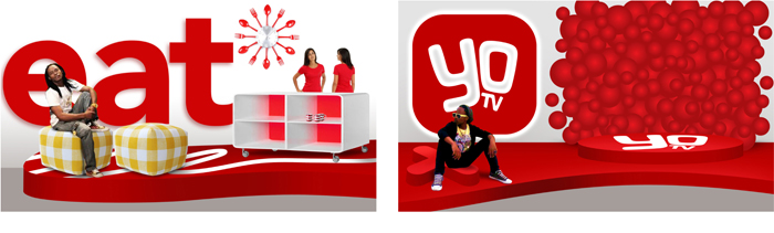 SABC YOTV. Logo. Stages - Open here for design