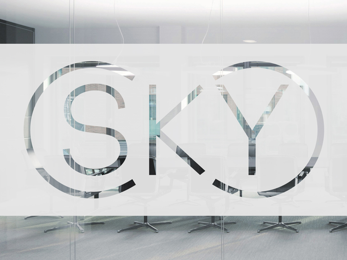 Sky Group. Identity - Open here for design