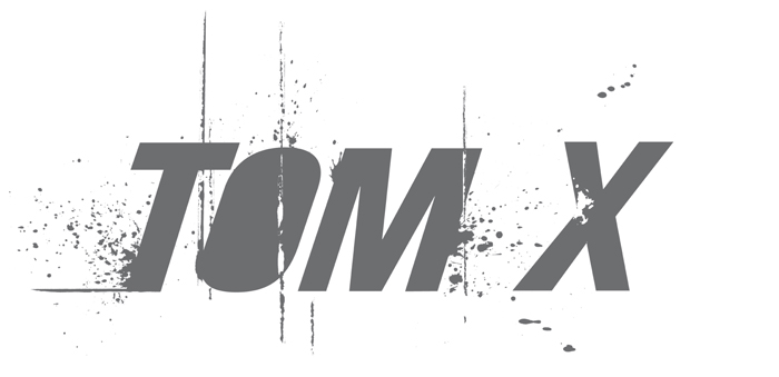 Tom.X. Logo - Open here for design